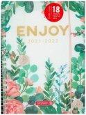 BRUNNEN 1072155142 Schülerkalender 2021/2022 (18 Monate)