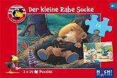 Der kleine Rabe Socke - Puzzle 1 (Kinderpuzzle)