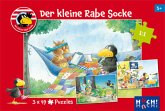 Der kleine Rabe Socke - Puzzle 2 (Kinderpuzzle)