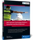 SAP Business Technology Platform - Sicherheit und Berechtigungen