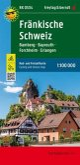 Fränkische Schweiz, Bamberg - Bayreuth, Forchheim - Erlangen, Rad- und Freizeitkarte 1:100.000