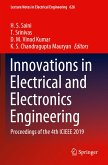 Innovations in Electrical and Electronics Engineering