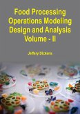 Food Processing Operations Modeling (eBook, ePUB)
