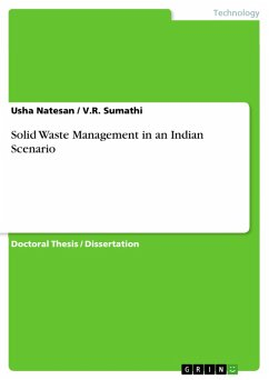 Solid Waste Management in an Indian Scenario (eBook, PDF)