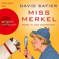Miss Merkel - Mord in der Uckermark (Gekürzt) (MP3-Download) - Safier, David
