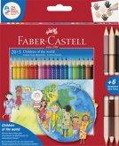 Faber-Castell Children of the world Colour Grip 20 + 3