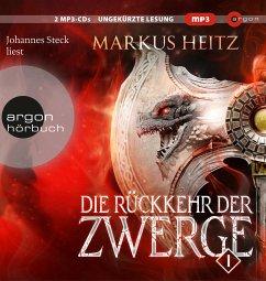 Die Rückkehr der Zwerge 1 / Die Zwerge Bd.6 (3 MP3-CDs) - Heitz, Markus