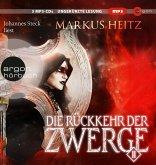 Die Rückkehr der Zwerge 2 / Die Zwerge Bd.7 (3 MP3-CDs)