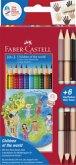 Faber-Castell Children of the world Colour Grip 10 + 3