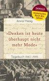 """Denken ist heute u¨berhaupt nicht mehr Mode"" (eBook, ePUB)"