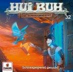 Hui Buh, Das Schlossgespenst, neue Welt - Schlossgespenst gesucht!, 1 Audio-CD