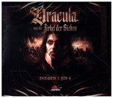 Dracula und der Zirkel der Sieben, 4 Audio-CD