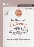 Was Schönes für mich - Handlettering für Lehrerinnen