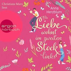 Die Liebe wohnt im zweiten Stock links (Ungekürzt) (MP3-Download) - Herzblum, Anna