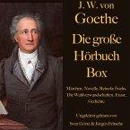 Johann Wolfgang von Goethe: Die große Hörbuch Box (MP3-Download)