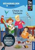 Die drei !!!, Bücherhelden 2. Klasse, Chaos im Tierheim