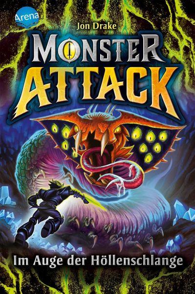 Buch-Reihe Monster Attack