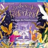 Zaubereulen in Federland (2). Die Magie des Feuerbrunnens, 2 Audio-CD