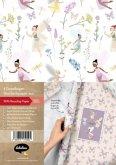 Geschenkpapier-Set für Kinder: Feen/ Elfen/ Schmetterlinge