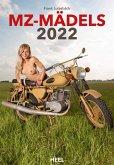 MZ-Mädels 2022 - Ästhetische Aktfotografie (Erotik) mit den Kultbikes aus Zschopau