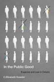 In the Public Good, 57: Eugenics and Law in Ontario