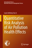 Quantitative Risk Analysis of Air Pollution Health Effects (eBook, PDF)