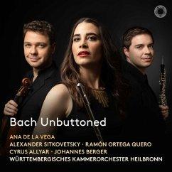 Bach Unbuttoned - De La Vega,Ana/Quero,Ramón Ortega/Sitkovetsky,A.