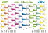 Schul-Jahresplaner 2021/2022-Set