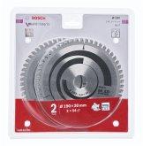 Bosch 2x Multi Material 190x30x2.4/1.8x54T
