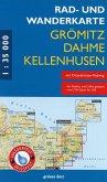 Rad- und Wanderkarte Grömitz, Dahme, Kellenhusen