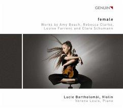 Female-Werke Für Violine & Piano - Bartholomäi,Lucie/Louis,Verena
