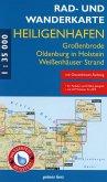 Rad- und Wanderkarte Heiligenhafen, Oldenburg in Holstein, Großenbrode