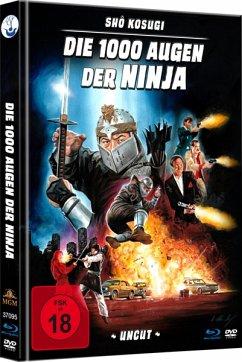 Die 1000 Augen der Ninja Uncut Mediabook - Kosugi,Sho/Booth,James/Burton,Norman
