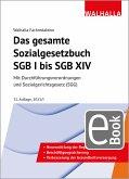 Das gesamte Sozialgesetzbuch SGB I bis SGB XIV (eBook, PDF)