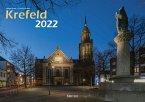 Krefeld 2022 Bildkalender A3 quer, spiralgebunden
