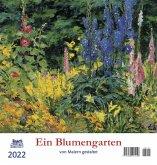 Ein Blumengarten 2022 - Postkartenkalender