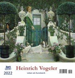Heinrich Vogeler 2022 Postkartenkalender