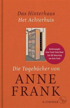 Das Hinterhaus - Het Achterhuis (Mängelexemplar) - Frank, Anne