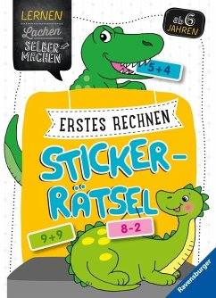 Erstes Rechnen Sticker-Rätsel (Mängelexemplar) - Jebautzke, Kirstin