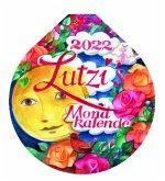 Lutzis Mondkalender rund Ø 16cm (Tagesabreisskalender) 2022
