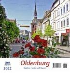 Oldenburg 2022 Postkartenkalender