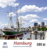 Hamburg 2022 Postkartenkalender