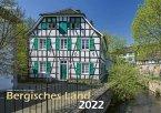 Bergisches Land 2022 Bildkalender A3 quer