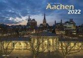 Aachen 2022 Bildkalender A3 quer, spiralgebunden