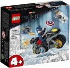 LEGO® Marvel Super Heroes 76189 Duell zwischen Captain America und Hydra