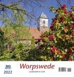 Worpswede 2022 Postkartenkalender