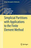 Simplicial Partitions with Applications to the Finite Element Method (eBook, PDF)