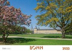 Bonn 2022 Bildkalender A4 quer, spiralgebunden