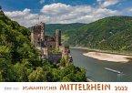 Romantischer Mittelrhein 2022 Bildkalender A4 quer, spiralgebunden