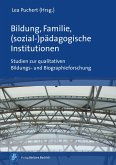 Bildung, Familie, (sozial-)pädagogische Institutionen (eBook, PDF)